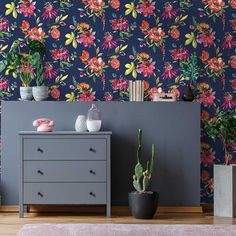 Punica by Albany - Blush Pink - Wallpaper : Wallpaper Direct Blush Pink Wallpaper, Bold Wallpaper, Tropical Wallpaper, Fabric Wallpaper, Pattern Wallpaper, Beautiful Wallpaper, Nature Wallpaper, Heathers Wallpaper, Albany Wallpaper