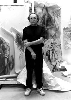 Ernest Pignon Ernest - photo Despatin & Gobeli. #ernestpignon http://www.widewalls.ch/artist/ernest-pignon-ernest/