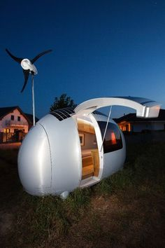 Bratislava, Slovakia-based Nice Architects made quite a splash when it unveiled its Ecocapsule micro-shelter. The firm has successfully turned pixels into prototype product and hopes to start shipping the novel egg-shaped tiny home in early 2016.