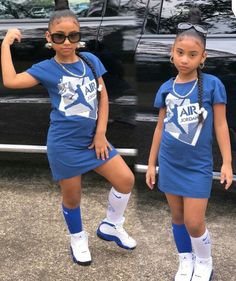 Baby Fashion Swag Children Ideas For 2019 Black Kids Fashion, Cute Kids Fashion, Little Girl Fashion, Child Fashion, Cute Little Girls Outfits, Cute Swag Outfits, Kids Outfits, Little Girl Swag, Black Baby Girls