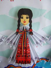 Origarden: 1 DECEMBRIE - ZIUA ROMÂNIEI 1 Decembrie, Diy And Crafts, Crafts For Kids, Practical Life, Projects For Kids, Preschool Activities, Folk, Aurora Sleeping Beauty, Origami
