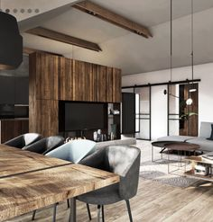 Studio Kitchen, Lounge, Living Room, Sofa, Interior, Table, Inspiration, Furniture, Home Decor