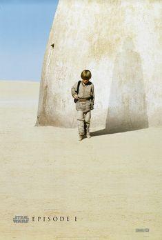 The Star Wars Episode 1 teaser poster.