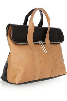 3.1 Phillip Lim 31 Hour two-tone leather tote...... like two bags in one
