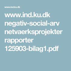 www.ind.ku.dk negativ-social-arv netvaerksprojekter rapporter 125903-bilag1.pdf