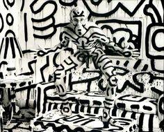 Keith Haring - Annie leibovitz