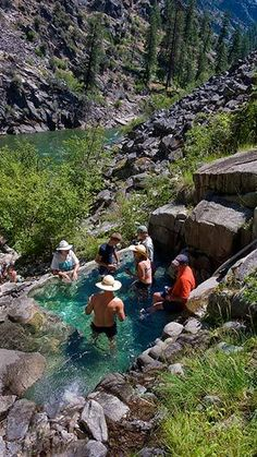 Barth Hot Springs | Main Salmon, Idaho