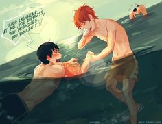 This is so heartwarming! // Kagehina