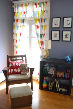 Baby room-reading nook
