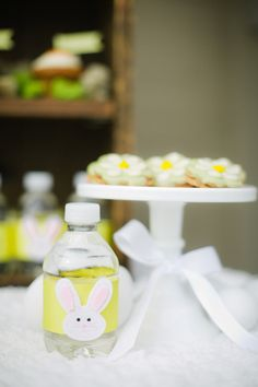 Easter Snack Station Party via Kara's Party Ideas : Bunny Face Accent
