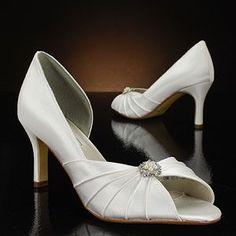 4b187b7969b2  96 liz rene melissa-758 white   ivory Wedding Shoes. I like. Not