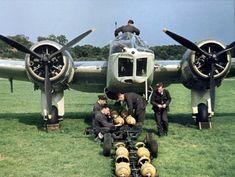 Bomber Blenheim.