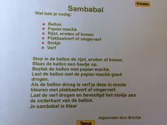 Sambabal knutselen