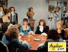 International lobby cards for the 'Angelique' series.