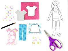 Crafts for Kids | How to Make Paper Dolls With Downloadable Patterns