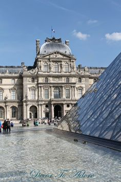 The Louvre's Secret Entrance and Dazzling Exterior~Decor To Adore travel series June 2014.