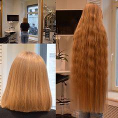 Long Hair Cut Short, Long Red Hair, Super Long Hair, Short Hair Styles, Bun Hairstyles For Long Hair, Bob Hairstyles, Braided Hairstyles, Grow Hair, Hair Growing
