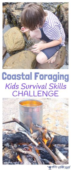 Coastal foraging is a fun survival skills for kids activity. Get kids outside and engaged with Nature finding & cooking their own seaside food for free. We are want to say thanks if you like to share this post to another […] Kids Survival Skills, Survival Food, Outdoor Survival, Survival Prepping, Survival Hacks, Survival Rifle, Survival Stuff, Emergency Preparedness, Nature Activities
