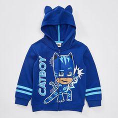 56adc5483338 PJ Masks Catboy Zip Front Hoodie – Target Australia