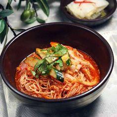 비빔국수 Bibim Guksu, #Korea #Food