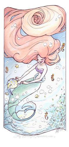 La Sirenita.