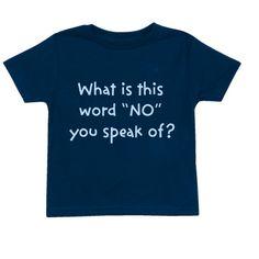 Custom funny toddler t-shirt.