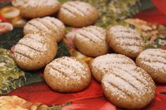 Bredeles aux noisettes (nussplätchen)