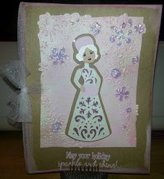 Another card made using A Quilted Christmas