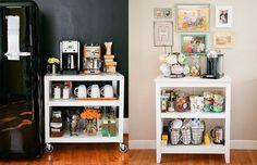 Um mimo para você e sua casa: o canto do café :-) - veja o que é e dicas de como decorá-lo!