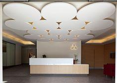 Faux-plafond acoustique / décoratif / en fibre minérale / en îlot OPTIMA CANOPY CS5443 Armstrong ceilings - Europe