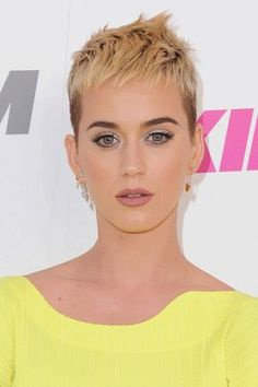 Katy perry short haircut 2017