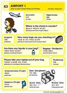 63 Learn Korean Hangul Airport 1