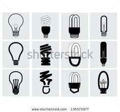 Light bulbs. Bulb icon set keyword black, brain, brainstorm, bright, bulb, collection, concept, creative, design, doodle, drawing, ecology, efficient, electric, electrical, electricity, electronics, energy, fluorescent, fluorescent light, glass, graphic, halogen, icon, idea, illumination, innovation, inspiration, invention, isolated, lamp, light, light bulbs, lightbulb, low, minimal, modern, notification, original, outline, power, save, set, shining, simple, symbol,
