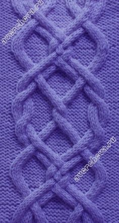 5187 - knitting stitch   #cables