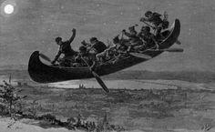 10+ idées de Chasse-Galerie | chasse galerie, légende québécoise, chasse