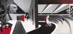 Concept Art, Edna Mode's House, The Incredibles, 2004