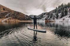 Cold paddles | : @_prozack_ | #stillbase #mountainsup Sup Stand Up Paddle, Sup Yoga, Paddle Boarding, Be Still, Base, Paddles, Cold, Instagram Posts, Therapy