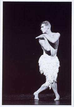 Adam Cooper as the Swan in Swan Lake. #dancer #dance