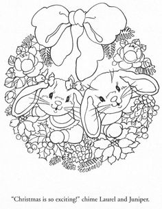 "from ""Julie's Journey Visiting Friends"" coloring book"