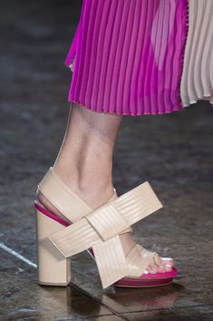 Byblos Milano at Milan Fashion Week Spring 2018 - Details Runway Photos