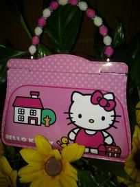 Hello kitty lunch box. V cute for pretty girl free ship for 14.99 NWT