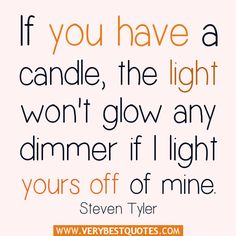 If you have a candle – sharing quotes - Inspirational Quotes about ...