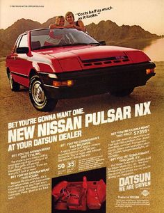 35 best i love my pulsar images on pinterest nissan autos and cars nissan pulsar nx fandeluxe Gallery