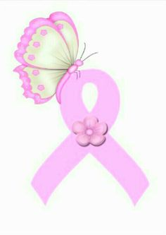 Pink ribbon Pink Ribbons, Fighting Cancer, Flowers