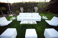 Set up a lounge