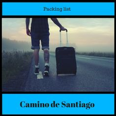 I'm putting together a packing list for my Camino de Santiago hike. I imagine this will be a  work in progress as I whittle down my packing list to a mere 7 kilogram pack. www.shelsweeney.com
