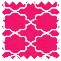 Moroccan Lattice Pink from Michael Miller