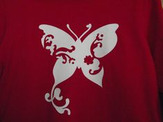 Butterfly T by CAULDRON24 on Etsy, $8.00