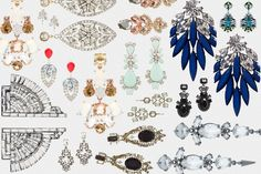 15 Dangly, Spangly Earrings - The Cut