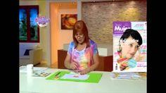 Sublimación sobre kimono - Adriana Dadamo en Bienvenidas Tv